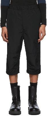 Givenchy Black Ski Shorts