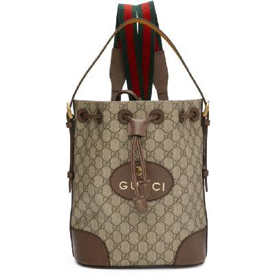 Gucci Beige GG Supreme Backpack