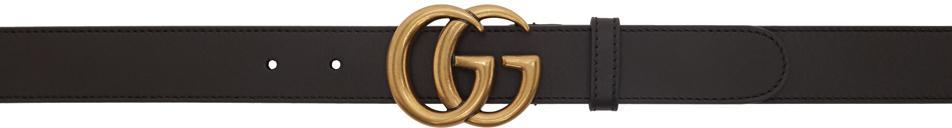 Gucci Brown GG Marmont Belt