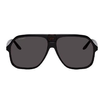 Gucci Black & Tortoiseshell GG0734S Sunglasses