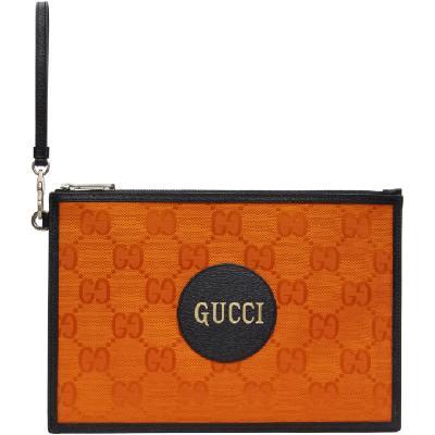 Gucci Orange Off The Grid Pouch