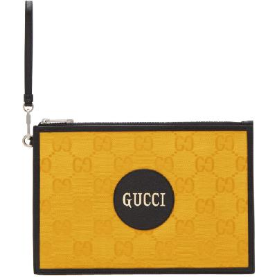 Gucci Yellow Off The Grid Pouch