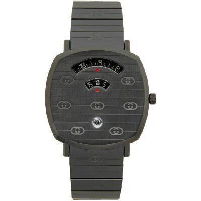 Gucci Black Grip Watch