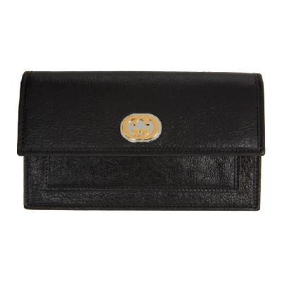 Gucci Black Interlocking G Wallet