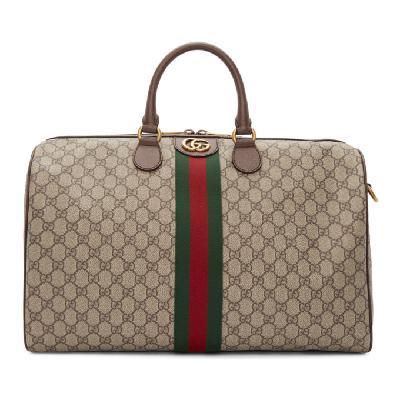 Gucci Beige Medium Ophidia Duffle Bag