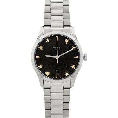 Gucci Silver G-Timeless Iconic Watch