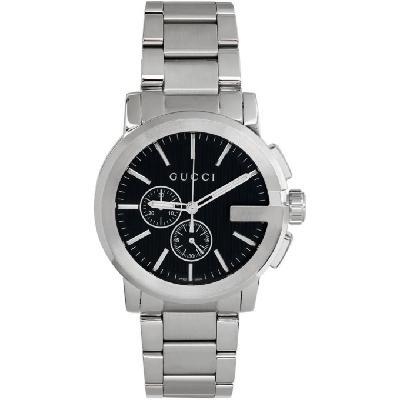 Gucci Silver G-Chrono Watch