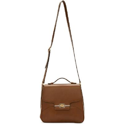 Gucci Brown Side Messenger Bag