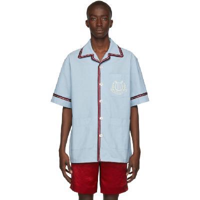 Gucci Blue 'Gucci Band' Shirt