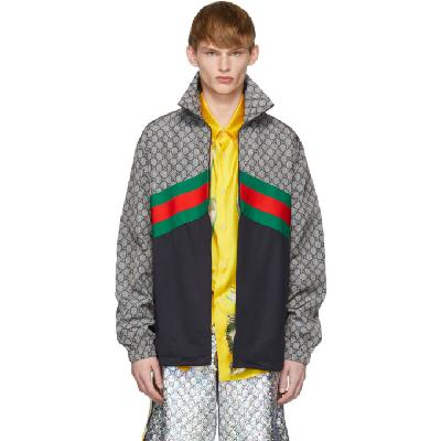 Gucci Multicolor Oversized Technical Track Jacket