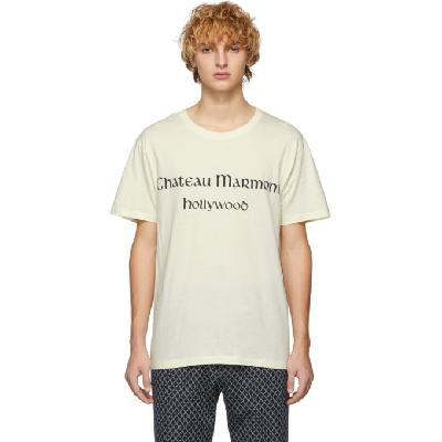 Gucci Off-White 'Chateau Marmont' T-Shirt