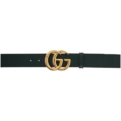 Gucci Green Double G Belt
