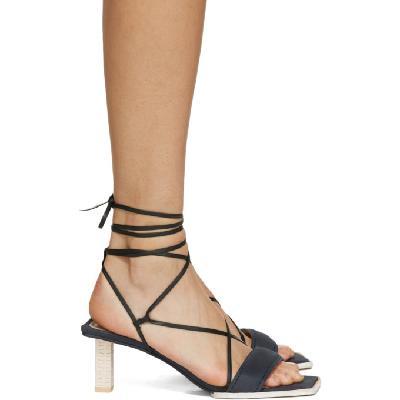 Jacquemus Black Les Sandales Adour Heeled Sandals