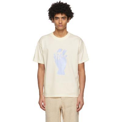 Jacquemus Off-White 'Le T-Shirt Bouquet' T-Shirt