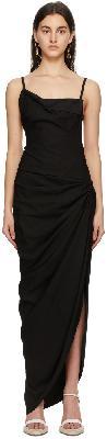 Jacquemus Black 'La Robe Saudade Longue' Dress