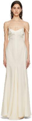 Jacquemus Off-White 'La Robe Camargue' Dress