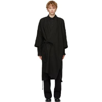 Jan-Jan Van Essche Black Kimono Robe