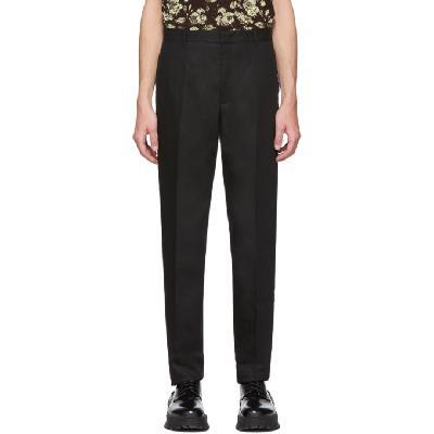 Jil Sander Black Thynne Trousers