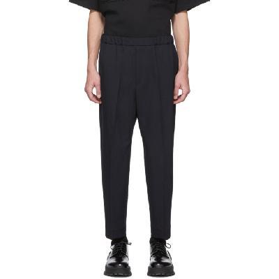 Jil Sander Navy Twill Trousers