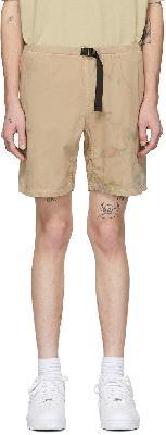 John Elliott Tan Mountain Shorts