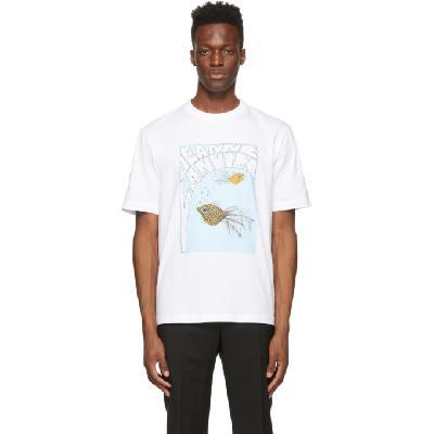 Lanvin White 'Jeanne Lanvin' T-Shirt