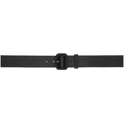 Lanvin Black Trench Belt
