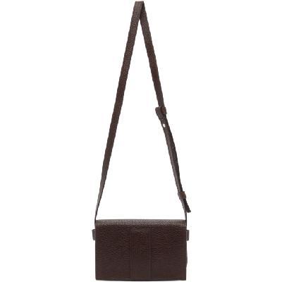 Lemaire Brown Mini Satchel Bag