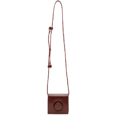 Lemaire Red Mini Camera Bag