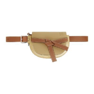 Loewe Beige Large Gate Bum Bag