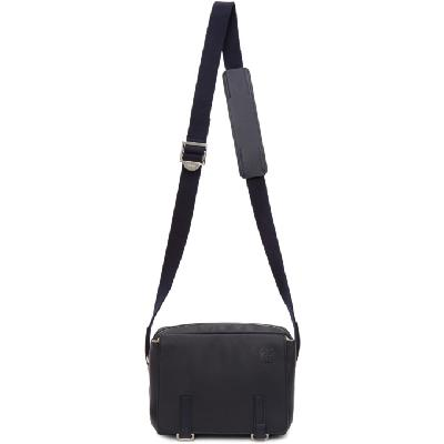 Loewe Blue XS Military Messenger Bag