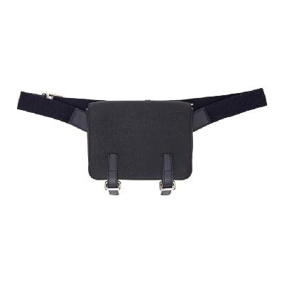Loewe Navy Military Pouch