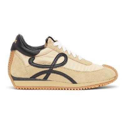 Loewe Beige Flow Runner Sneakers