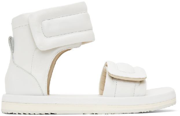 Maison Margiela White Leather Future Sandals