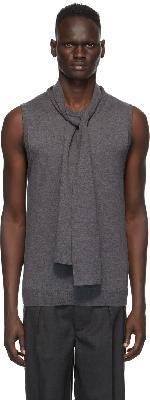 Maison Margiela Grey Gauge 12 Scarf Vest