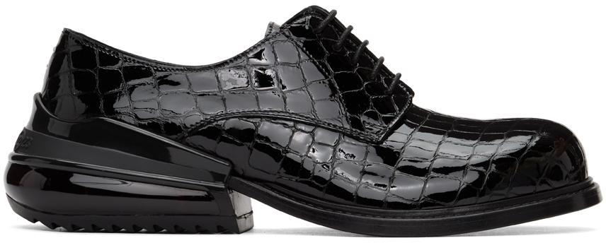 Maison Margiela Black Croc Airbag Derbys