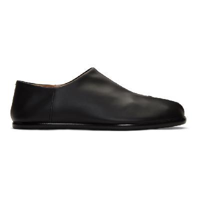 Maison Margiela Black Tabi Loafers