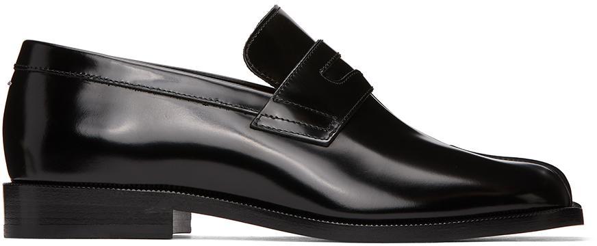 Maison Margiela Black Tabi Advocate loafers