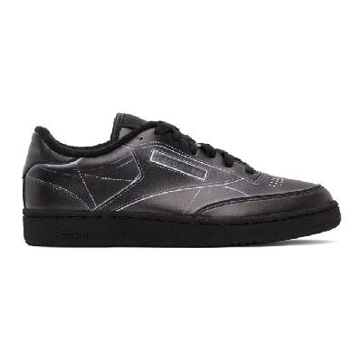 Maison Margiela Black Reebok Edition Project 0 Sneakers