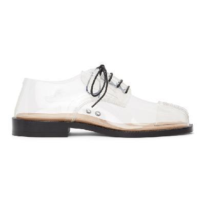 Maison Margiela Transparent Tabi Loafers