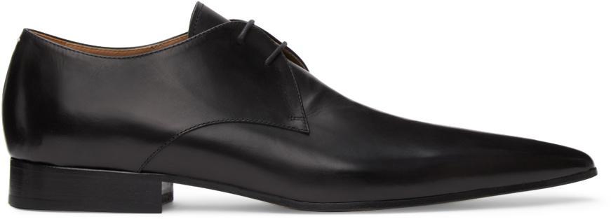 Maison Margiela Black Hyperion Lace-Up Shoes