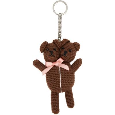 Marc Jacobs Brown Heaven By Marc Jacobs Vest Teddy Keychain