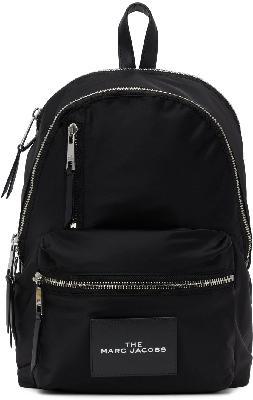 Marc Jacobs Black 'The Zipper' Backpack