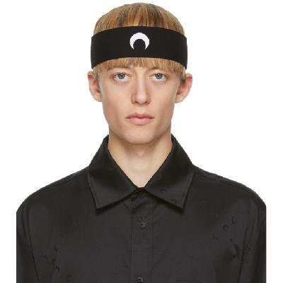 Marine Serre Black Moon Headband