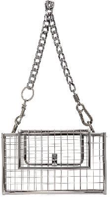 Martine Ali SSENSE Exclusive Gunmetal Desi Bag
