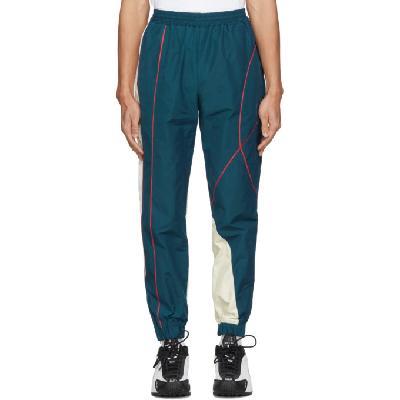 Martine Rose SSENSE Exclusive Blue Twist Track Pants