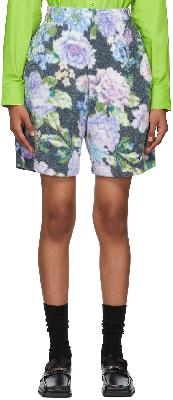 Martine Rose Black Barambo Shorts