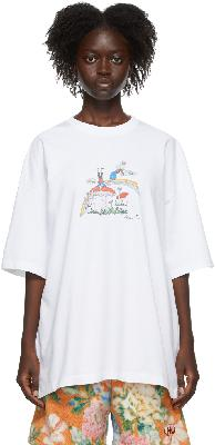 Martine Rose White Brittle T-Shirt