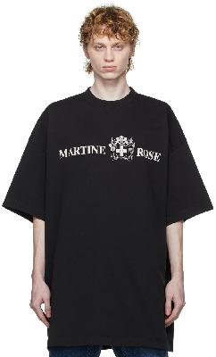 Martine Rose 'Quiet Riot' Logo T-Shirt