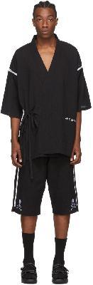 mastermind WORLD Black Logo Pyjama Set