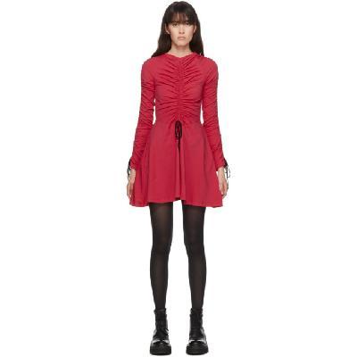 Molly Goddard SSENSE Exclusive Pink Cotton Lola Dress